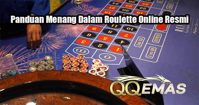 Panduan Menang Dalam Roulette Online Resmi